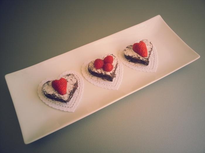 Brownies de Dia de San Valentin