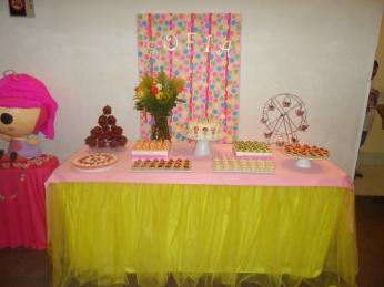 La mesa de dulces