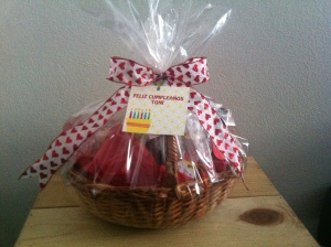 cesta de café da manha personalizada