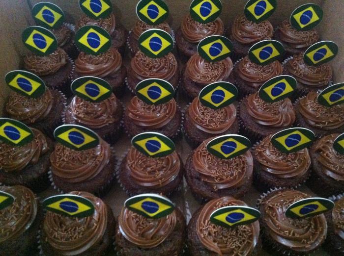 Cupxcake de brigadeiro